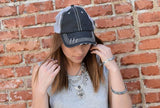 Shades of Grey baseball hat