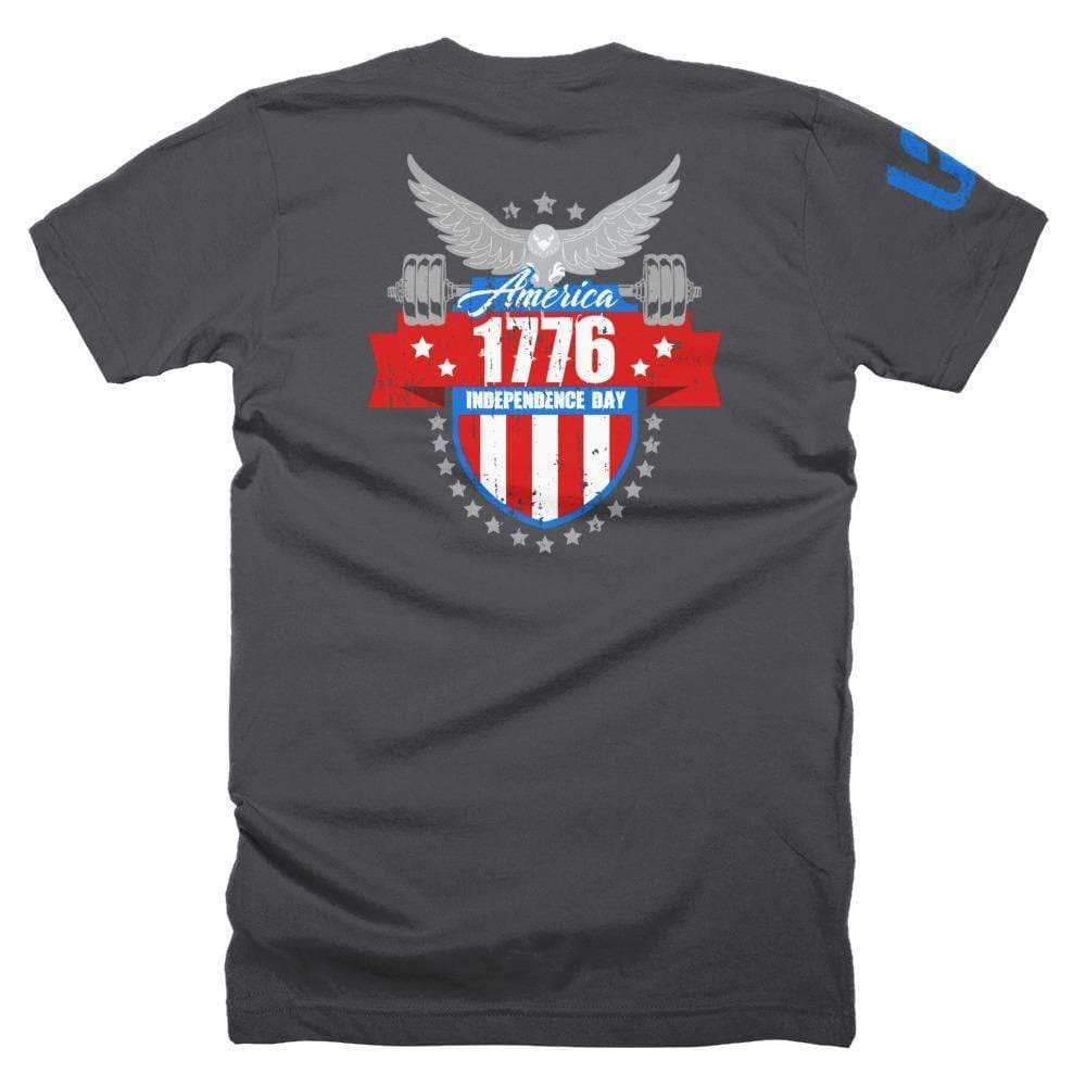 2019 WOD Obsessed 1776 4th of July T-Shirt - wodobsessed.com