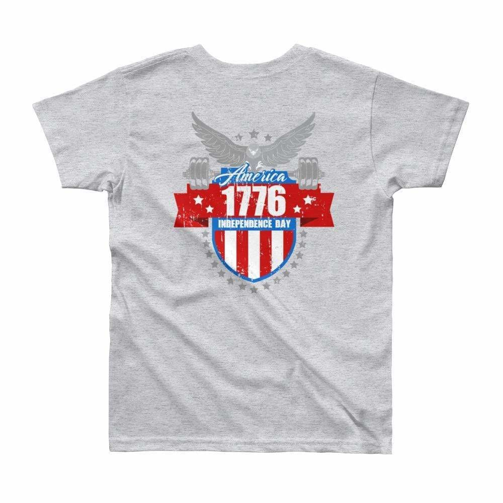 2019 WOD Obsessed 1776 4th of July Youth Short Sleeve T-Shirt - wodobsessed.com