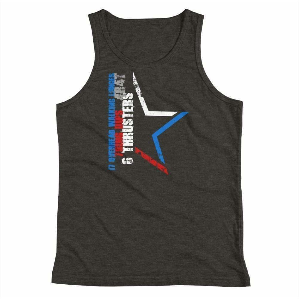 2019 WOD Obsessed 1776 4th of July Youth Tank Top - wodobsessed.com
