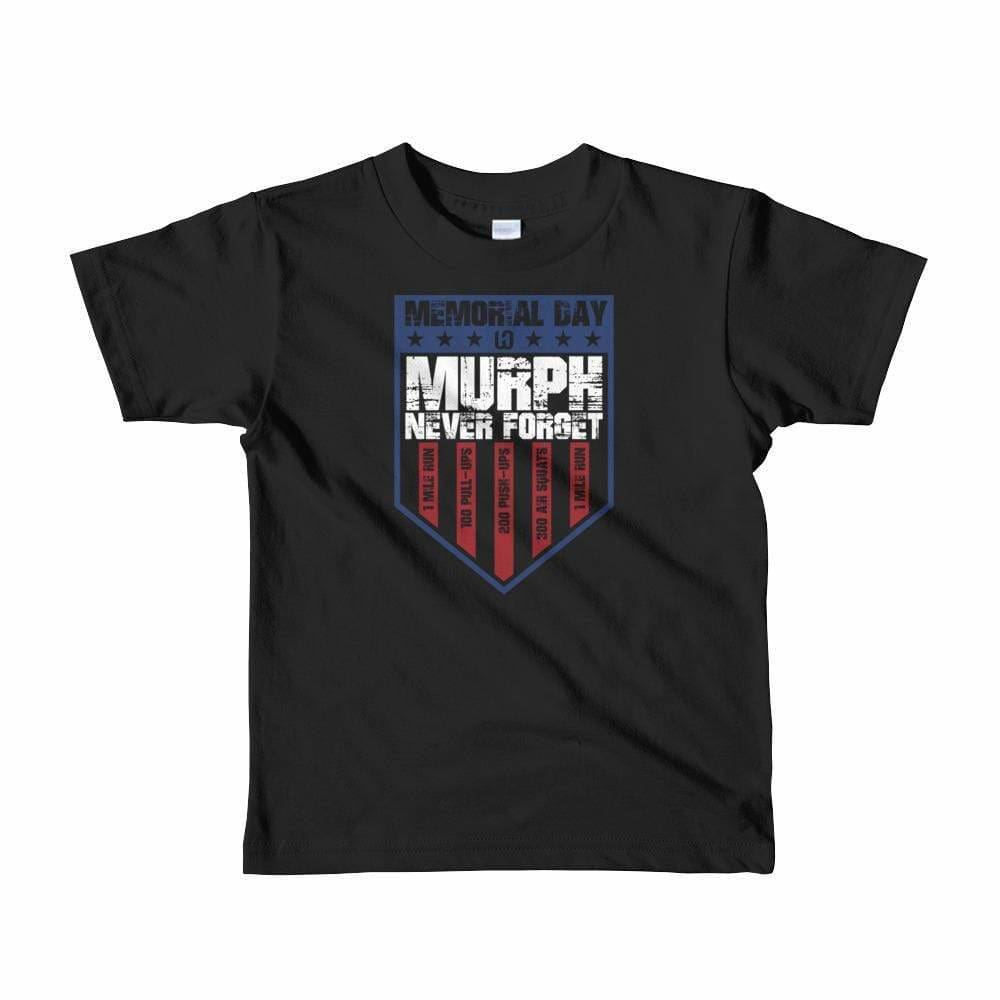 2019 WOD OBSESSED MEMORIAL DAY MURPH Boy's Short Sleeve T-Shirt - wodobsessed.com