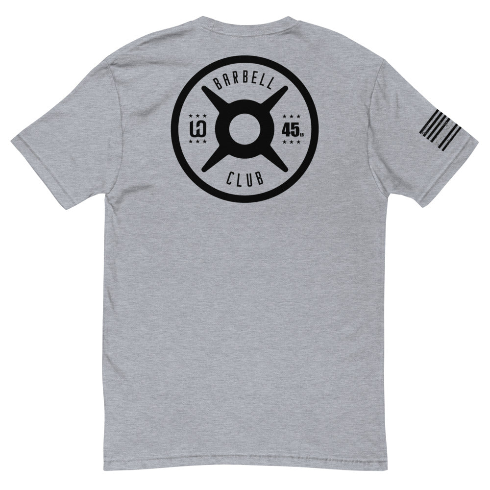 WOD Obsessed Barbell Short Sleeve T-shirt - wodobsessed.com