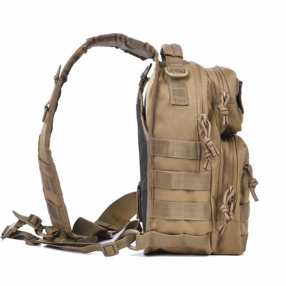 Tactical Sling Bag Pack With FREE United States Flag & WOD Obsessed patches! - wodobsessed.com