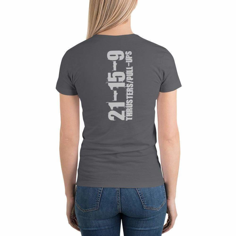 WOD Obsessed Fran - Quick & Painful Short Sleeve Women's T-Shirt - wodobsessed.com