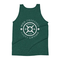 WOD Obsessed Lucky Lifting Unisex Tank Top