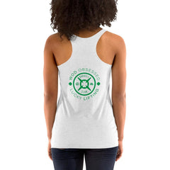 WOD Obsessed Lucky Lifting Women's Racerback Tank - wodobsessed.com