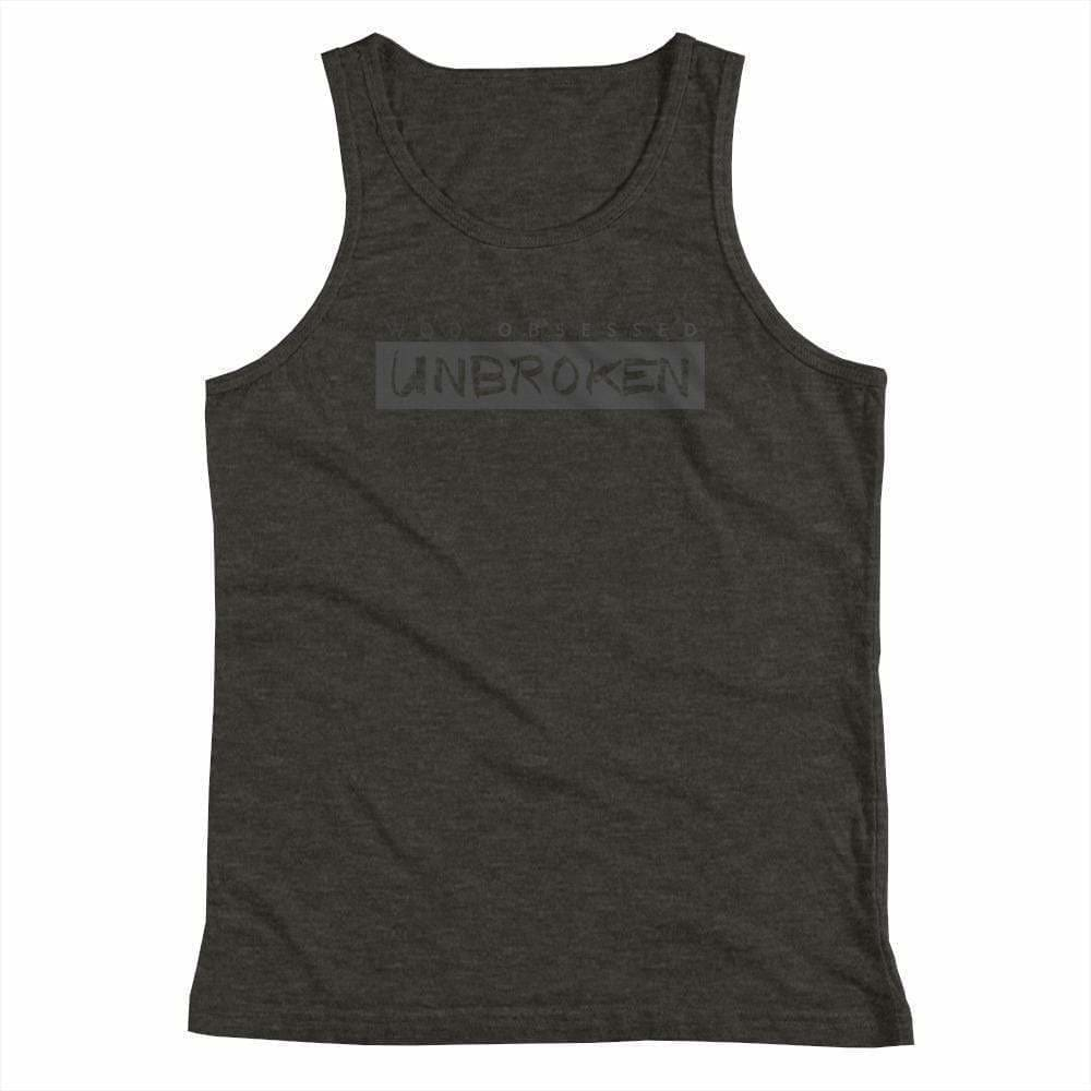 WOD Obsessed UNBROKEN Youth Tank Top - wodobsessed.com