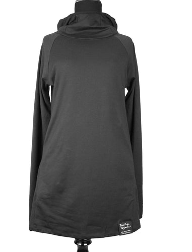 Attivo Hooded Top - Black