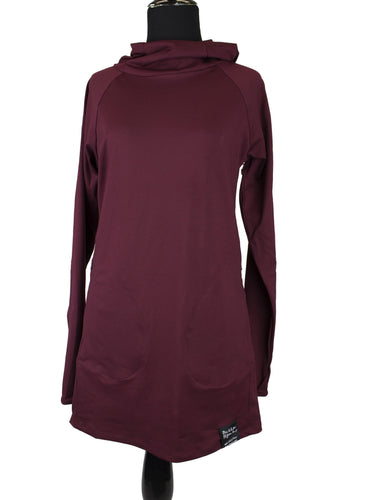 Attivo Hooded Top - Maroon