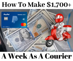 How to make $1700 dollars a week as a rideshare courier