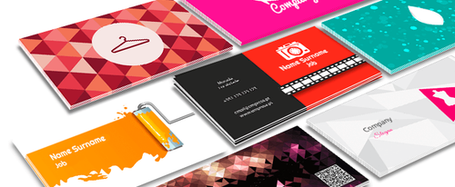 High Quality Custom Business Cards (Design+Print)