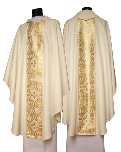 Chasuble with matching stole