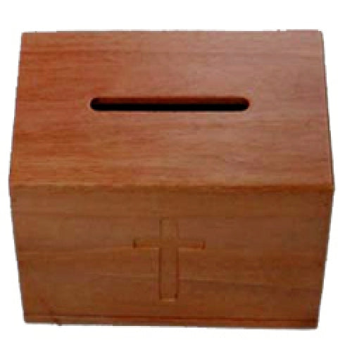 Large Wooden Offering Box