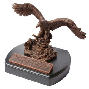 Moments Of Faith Sculpture - Eagle - 6' - Base 5.75' X 7'