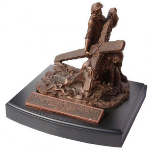 Moments Of Faith Sculpture - Jesus & The Cross - 6' - Base 6' X 7