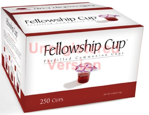 Prefilled fellowship Communion wine and wafer 250