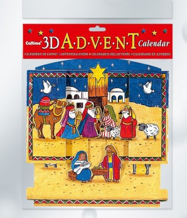 Advert Calendar 3D Manger Scene Advent Calendar By S364