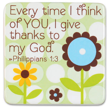 Every Time i think of You ,I give thanks to my God 2 Corinthians 7;4