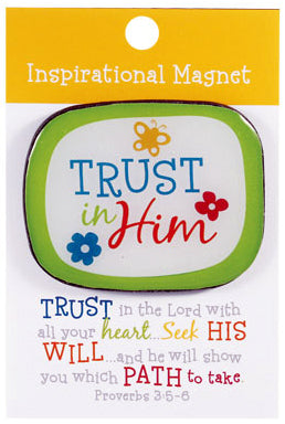 Trust in the Lord Magnet proverb 3;5-6