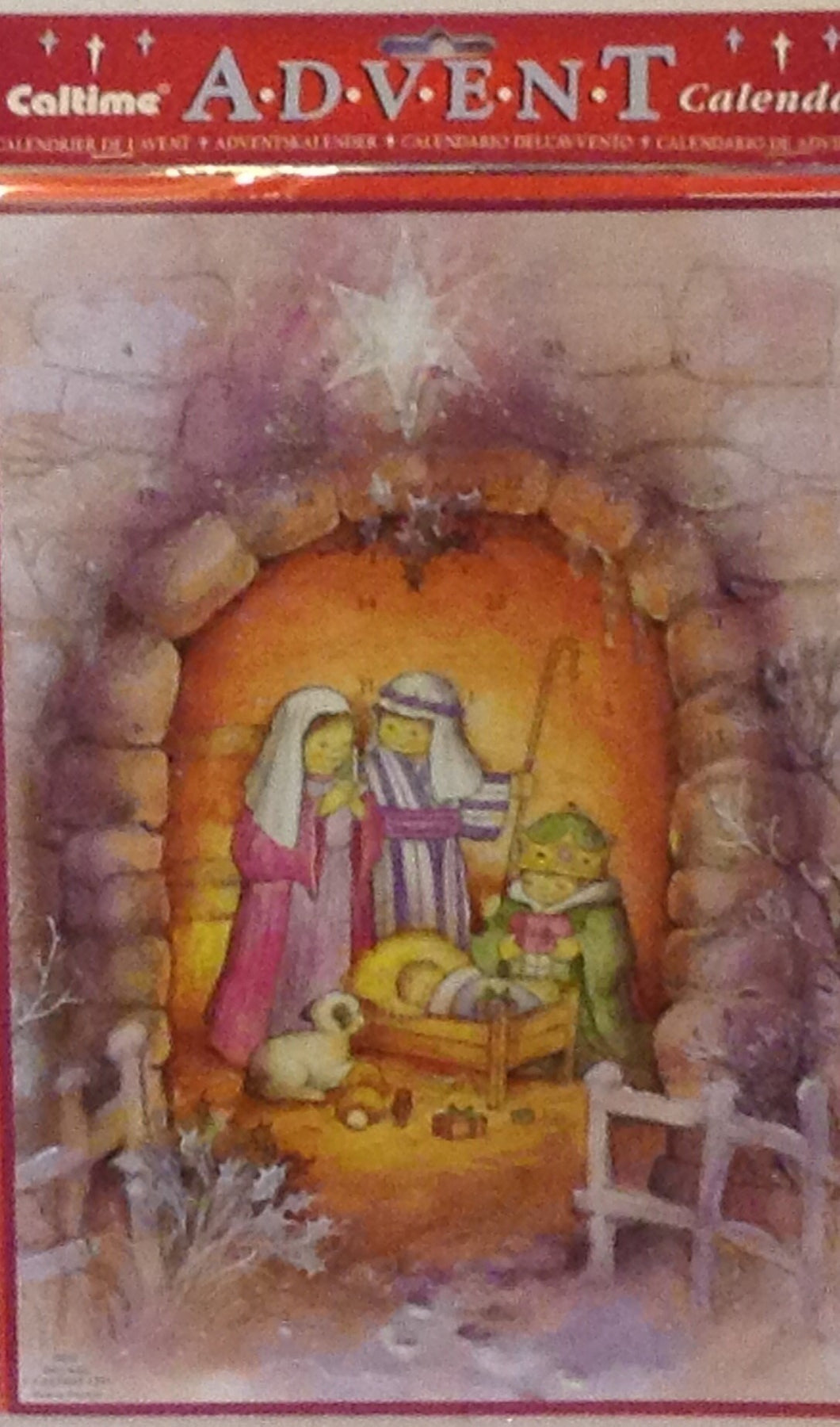 ADVENT CALENDAR BABY JESUS S605