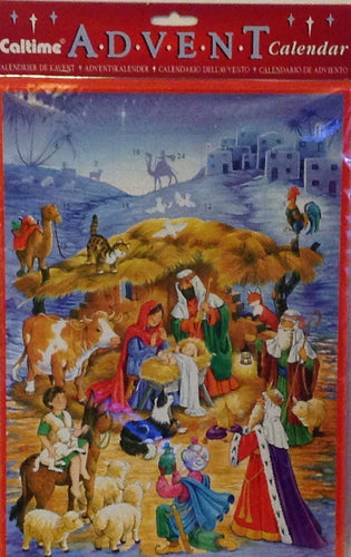 ADVENT CALENDAR BETHLEHEM S543