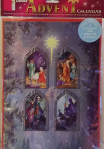 ADVENT CALENDAR THE  CHRISTMAS STORY