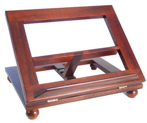 Adjustable Book Stand (Dark)16X16
