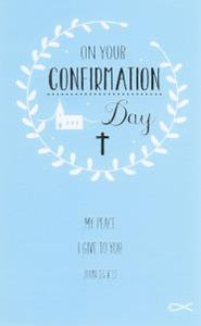 On Your Confirmation Day Blue