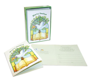 Confirmation Invitation Card With Envelope 12