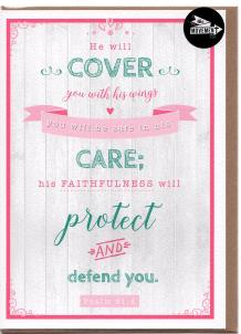THE MOVEMENT INSPIRATIONAL CARD  COVER CARE PROTECT