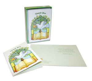 Thank You Confirmation Card with Envelope 12