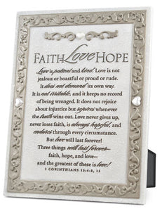 Plaque - Love One Another Series - 7.5In X 11.25In