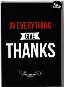 THE MOVEMENT INSPIRATIONAL CARDS IN EVERYTHING GIVE THANKS