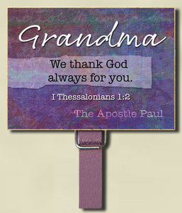 Grandma Peg Fridge Magnet