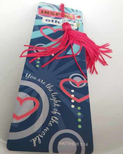 Inspire Others Bookmark Tassels .