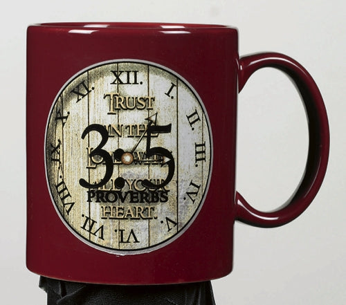 Trust in the Lord  Mug Proverb 3:5 Mug