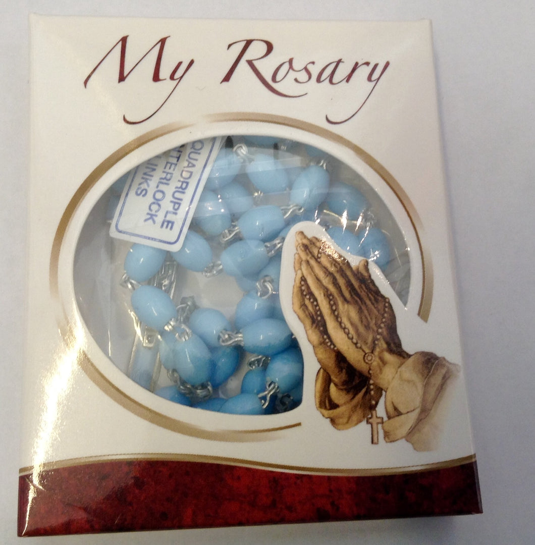 My Rosary Blue