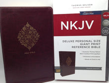 Load image into Gallery viewer, NKJV DELUXE PERSONAL SIZE GIANT PRINT THUMB INDEX