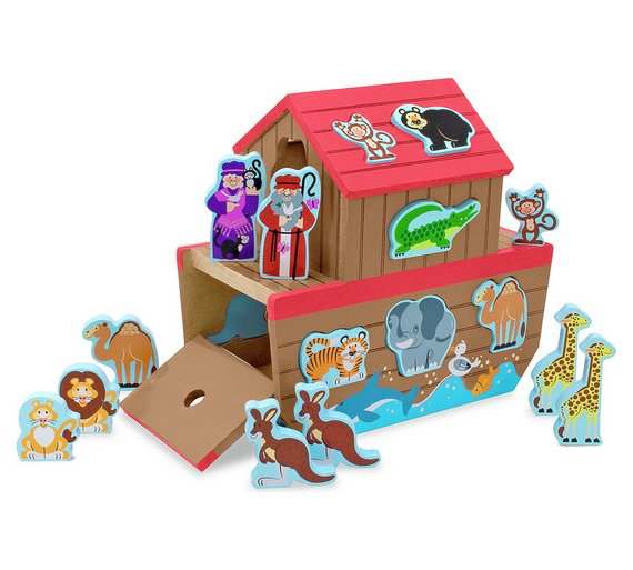 Melissa and Doug Noahs Ark Shape Sorter