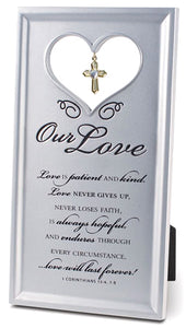Our Love Collection - Plaque - Resin - Our Love - 4.5In X 8.25In