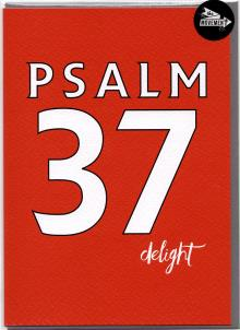 THE MOVEMENT  INSPIRATIONAL CARDS / PSALM 37