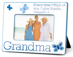 Photo Frame - Stitches Collection - Grandma - 9.25in X 7in
