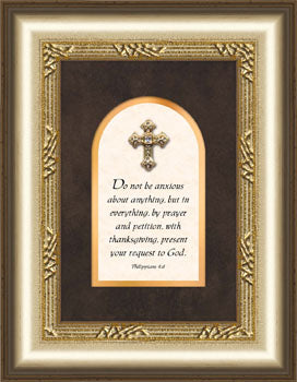 Proclaim The Cross Series - Plaque - Those Who Wait - 5.5In X 7In