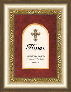 Proclaim The Cross Series - Plaque - Home - 5.5In X 7In