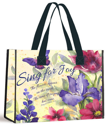 Eco Tote Bag -Sing For Joy