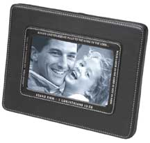 Stand Firm - Leather Photo Frame