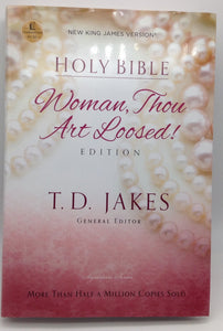 HOLY BIBLE WOMAN THOU ART LOOSED