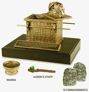 Sculpture - Ark Of The Covenant - 4.5In X 7In X 5.5In - Ez 37:26-27