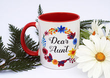Load image into Gallery viewer, DEAR AUNT MUG