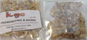 Frankincense & Myrrh Incense Resin